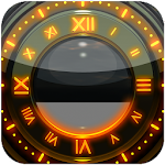 Sun Glow designer Clock Widget