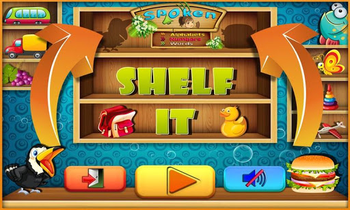 Shelf It Match Name to Objects
