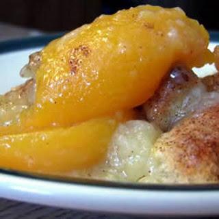 Peach Cobbler I