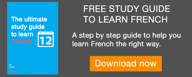 free study guide to learn french