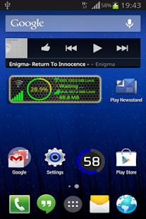 Data Monitor Widget Pro