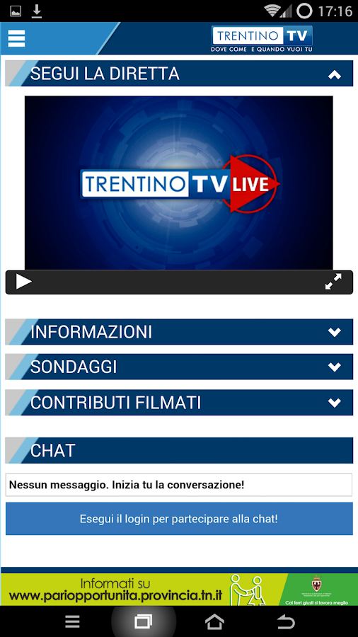 Trentino TV- screenshot