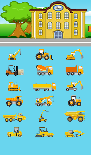 Kids Construction Cars