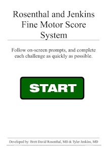 Fine Motor Score System screenshot for Android