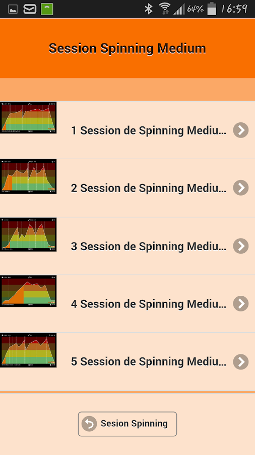 Clases de spinning aplicaciones de android en google play for Clases de spinning