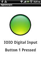 Screenshot of IOIO Digital input