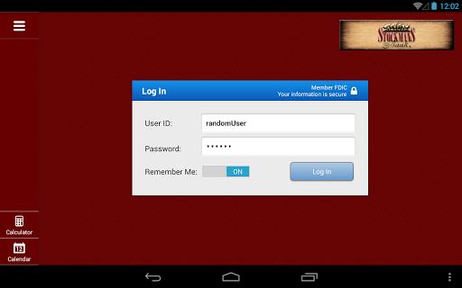 Stockmans Bank for Tablet
