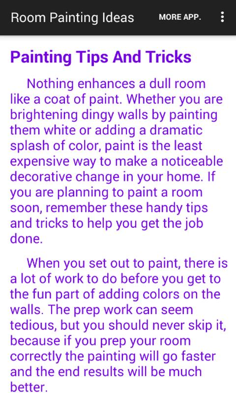 Room Painting Ideas- screenshot