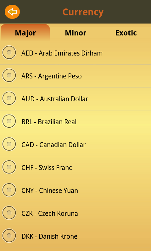 Currency Exchange Rate Free- screenshot