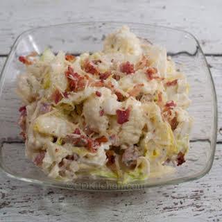 Bacon Cauliflower Salad.