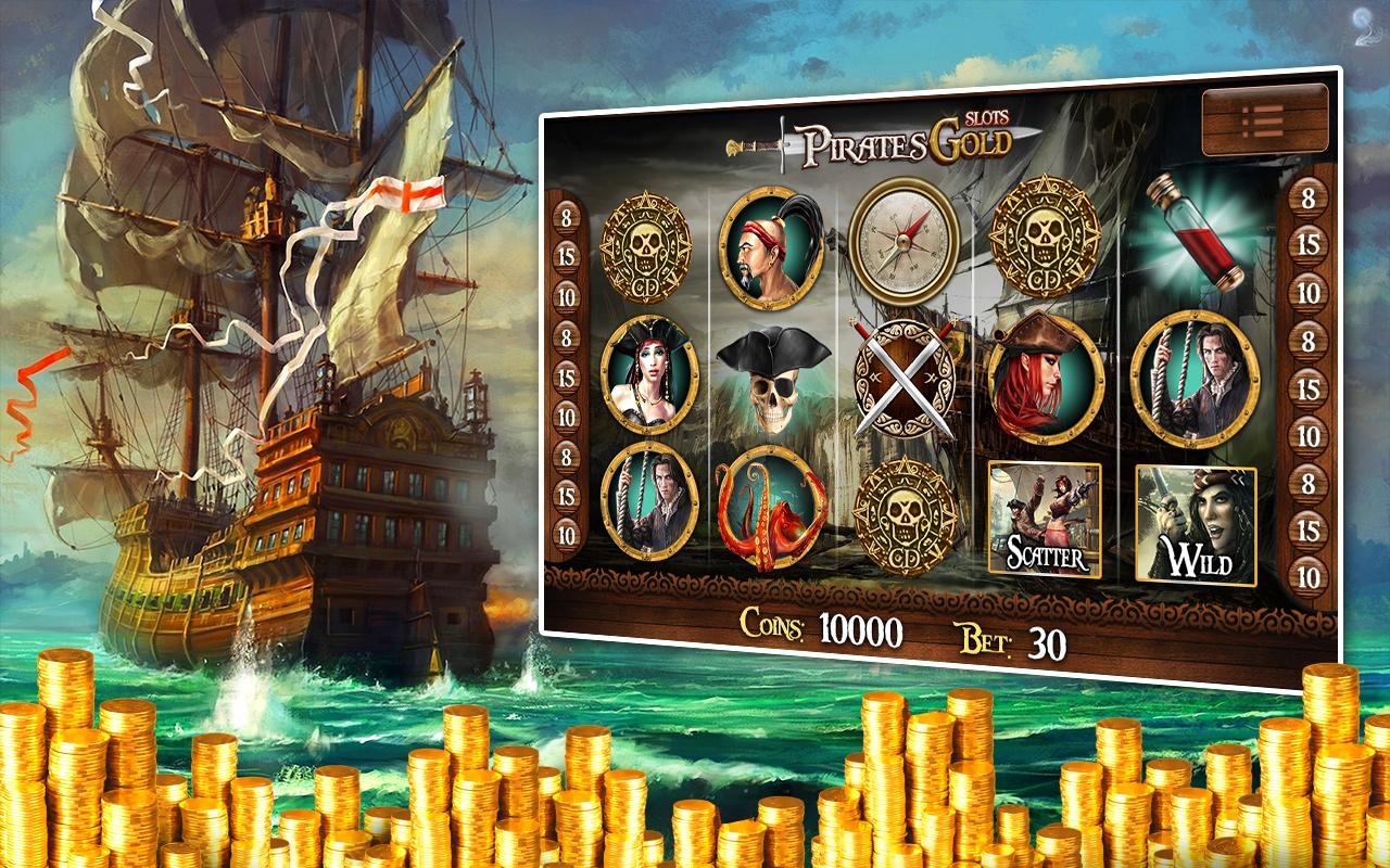 Pirates Treasure Slot Machine - Play this Video Slot Online
