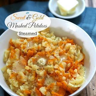 Sweet & Gold Mashed Potatoes