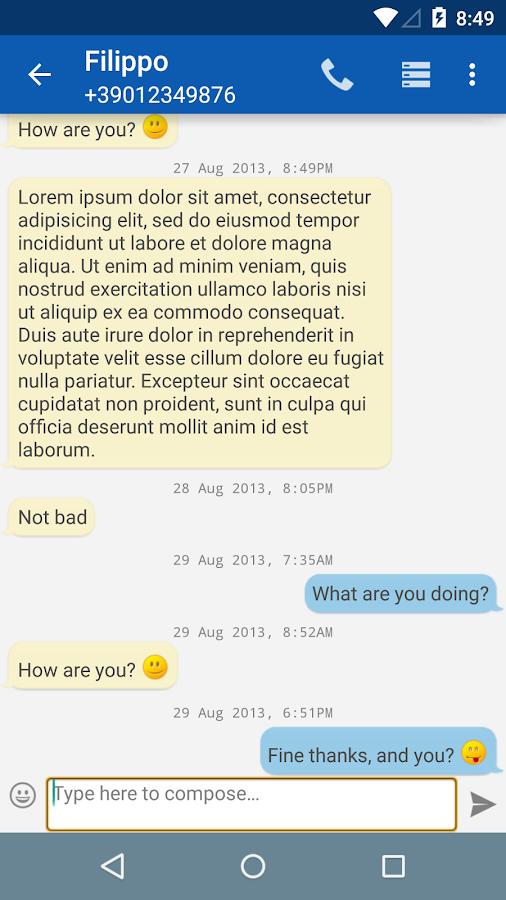 Smart SMS - Free - screenshot