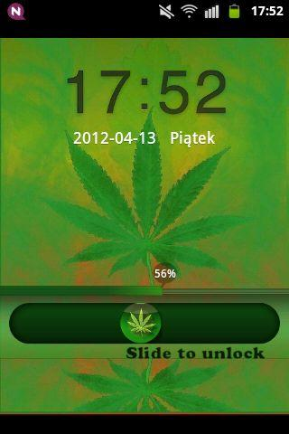 GO Locker Theme WEED GANJA - screenshot