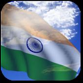 3D India Flag Live Wallpaper +