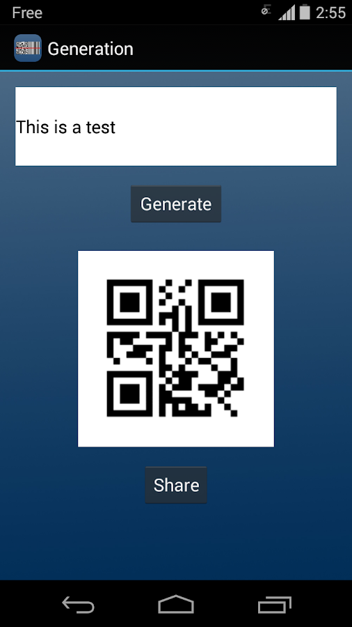 QR Code / Barcode Reader PRO- screenshot