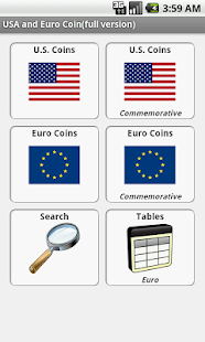 USA and Euro Coins - náhled