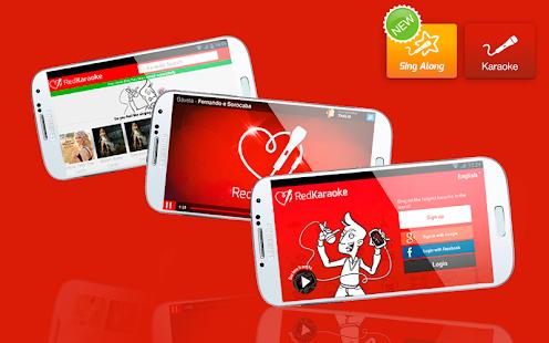 Red Karaoke: sing & get fans - screenshot thumbnail