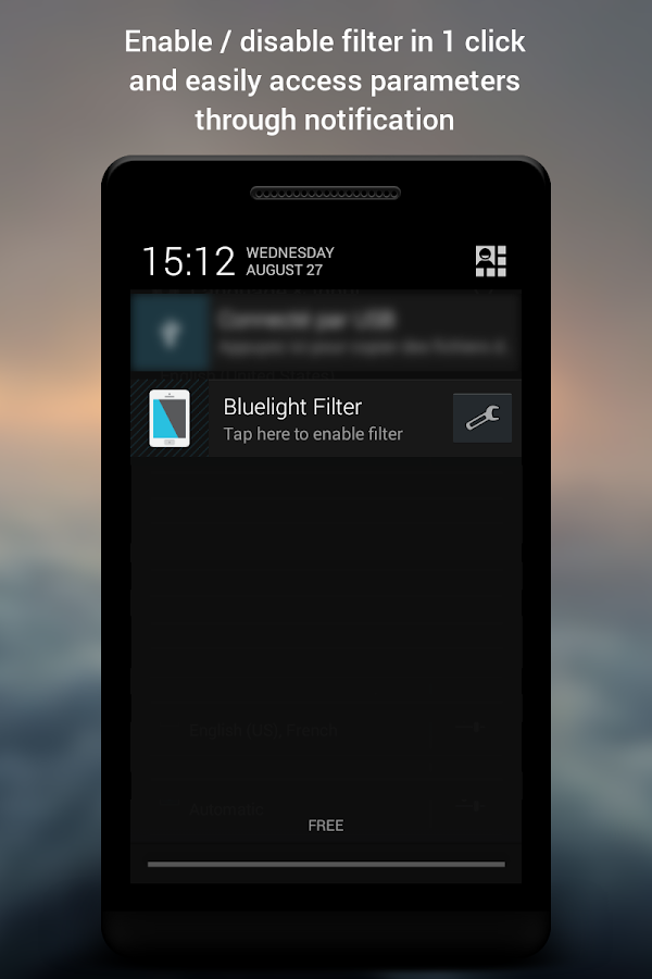 Bluelight Filter for Eye Care - screenshot