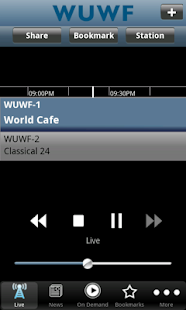WUWF Public Radio App - screenshot thumbnail
