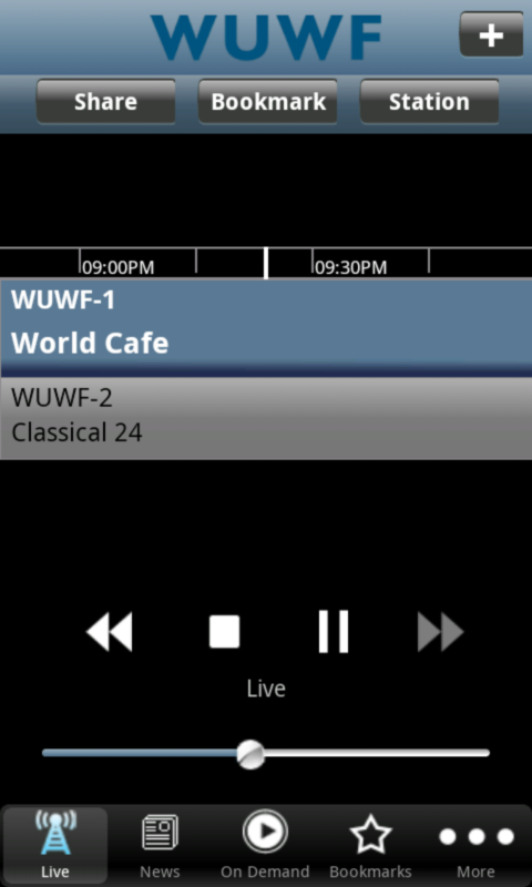 WUWF Public Radio App - screenshot