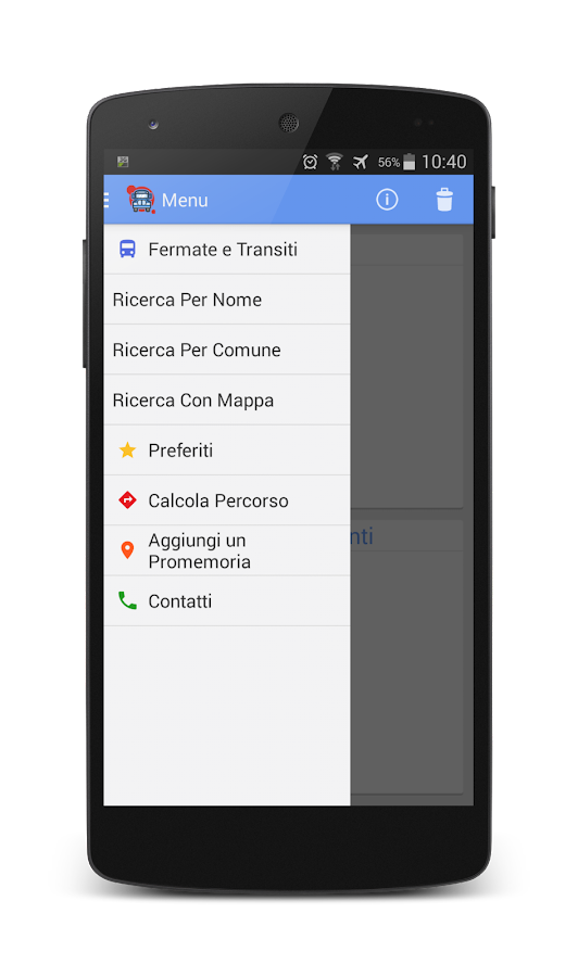 Cotral Mobile - screenshot