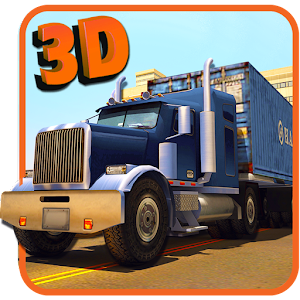 Real truck parking 3d trailer for PC and MAC