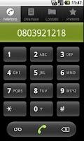 Screenshot of Bisceglie's usefull phone Num.