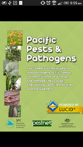 Pacific Pests and Pathogens