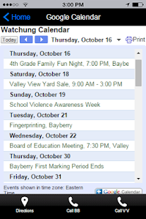 Watchung Borough Schools- screenshot thumbnail