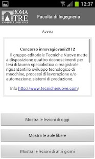 Università Roma TRE- screenshot thumbnail