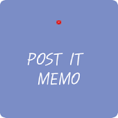 Post It Memo (Widget)