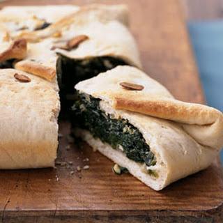 Spinach-Feta Calzone Casserole