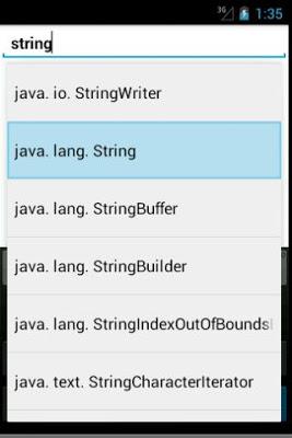 JDK7 Javadoc Explorer - screenshot