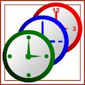 好きな色と形と大きさが設定できる『アナログ時計ウィジェット』 icon