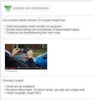 Screenshot of Mobielschademelden.nl