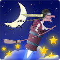 Jet flight of night witch icon