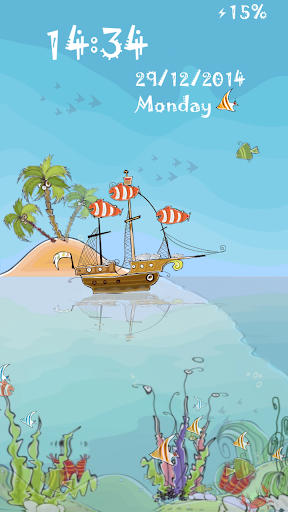 Dream Fish Land Locker Theme