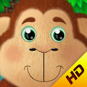 Nursery rhymes: 5 Monkeys HD icon