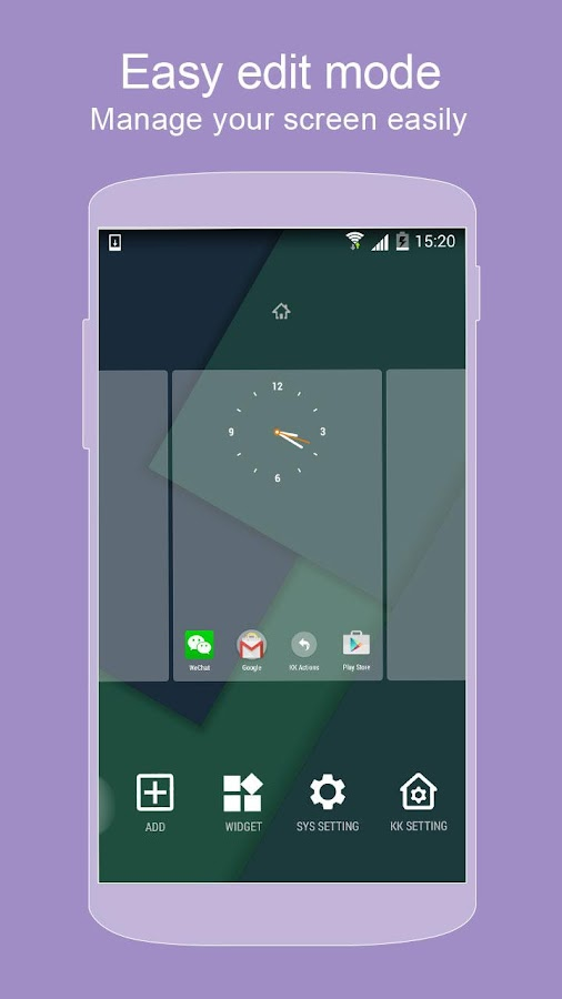 KK Launcher (Lollipop &KitKat) - screenshot