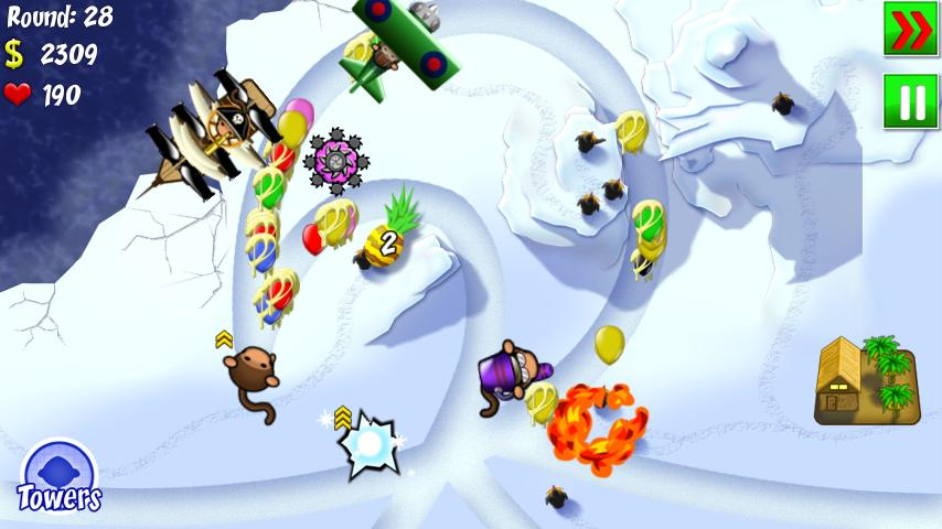 Bloons TD 4- screenshot