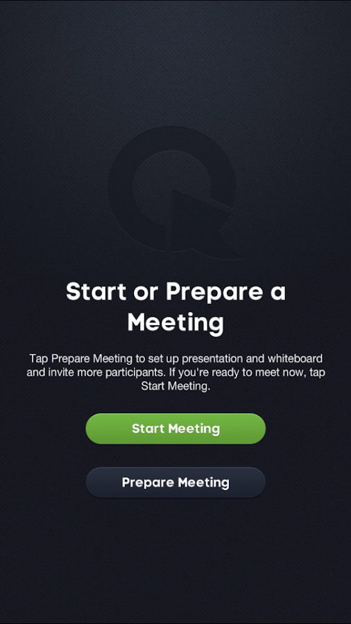 ClickMeeting Online Meetings- screenshot