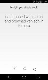 Random Recipe Generator - screenshot thumbnail