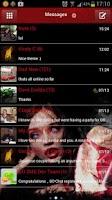 Screenshot of GO SMS Pro Atreyu Theme