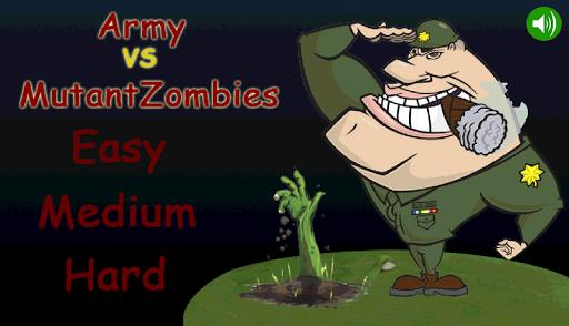 Army vs MutantZombies
