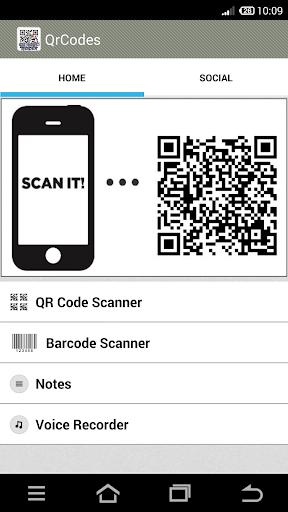 QR Code y Barcode Scanner