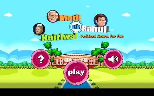 Modi Rahul Kejriwal Fun Game