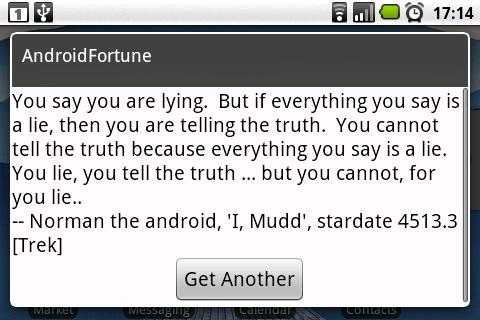 AndroidFortune- screenshot