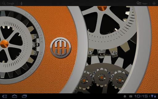 橙HD動態壁紙