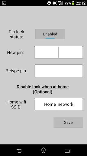 Simple Pin Lock